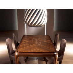Botero Table Black Walnut