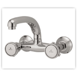 Ceramix Sink Mixer with Revolving Spout