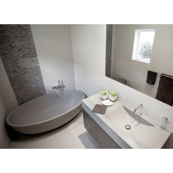 Apaiser Scoop Single Stone Vanity