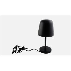 91 Degree Black Bell Study Table Lamp image 1