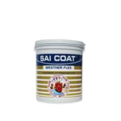 Saicoat Paints Weather Flex Elastomeric Exterior Emulsion