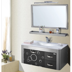 Dooa  Bathroom Cabinet With Basin Stainless Steel