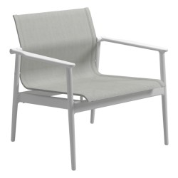 Gloster 180 Stacking Lounge Chair (white / Seagull) large