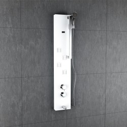 Jaaz Coral White Shower Panel coral_w-1