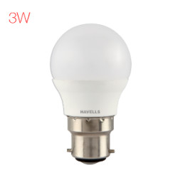 Havells New Adore LED 3 W Ball Havells New Adore LED 3 W Ball LHLDERUEMD8X003