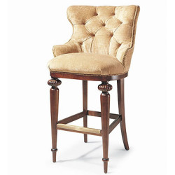 Century Furniture Tufted Bar Stool - Tufted Bar Stool 3768B
