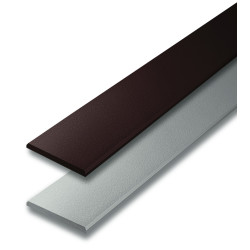 SCG Smartwood Eaves Liner Tapered Edge Uncolor 10x300x0.8 cm