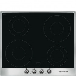 Smeg Hob, 60cm, Induction, Victoria, Stainless Steel Hob, 60 Cm, Induction, Victoria, Stainless Steel