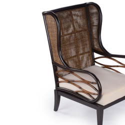 Abaca  Giade Wing Chair