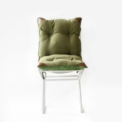 GulmoharLane ROSSO METAL CHAIR WITH TIE-UP CUSHION 2 GulmoharLane ROSSO METAL CHAIR WITH TIE-UP CUSHION 2
