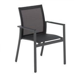 Gloster Azore Stacking Chair With Arms large
