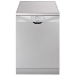Smeg Dishwasher, Freestanding, Silver, 12 Place Settings, 60 Cm, Energy Rating A+