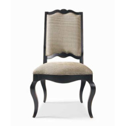 Century Furniture Upholstered Ladderback Side Chair
