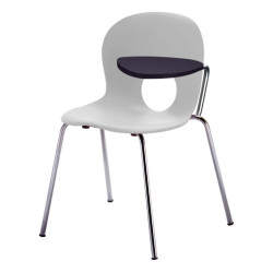 Olivia'' Chair with left writing tablet, antipanic hinge''