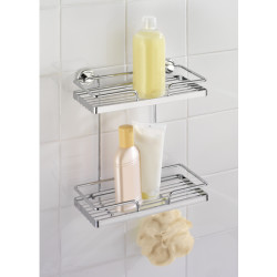 Wenko Power-Loc Wall Rack Sion