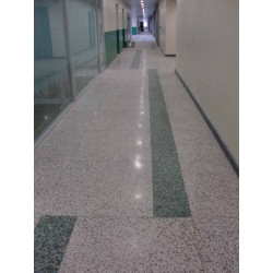 Bharat Floorings and Tiles Hinjewadi Floore Tiles Corporate offices of TCS in Hinjewadi floored with In situ flooring.