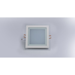Hansa Green Excellento Glossy  S Led  Small Panel Light (SQUARE)