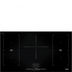 Smeg Multizone Option 90cm, Induction Hob Black Hob, 90 Cm, Induction, Multizone Option, Black