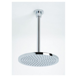 Trend Bathroom & Kitchen Centre Evolve 250mm Round Shower With 200mm Dropper Chrome