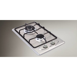 Elica Stainless Steel Built In Hob With European Burners EF 2 B 30 S Stainless Steel Built In Hobs With European Burners