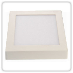 Glow Green Surface Mounted Panel GGDLPL 3 SQSM 3W LED