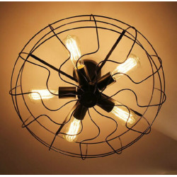 Jainsons Emporio Vintage Fan Ceiling Mounted Light