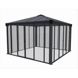 Palram Applications Ledro 3600 Enclosed Garden Gazebo IMAGE