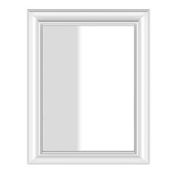 Gessi  Wall-mounted Mirror (white frame) 700 x 900 mm