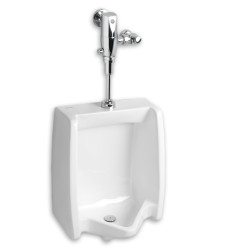 American Standard Washbrook 1.0 gpf Washout Top Spud Urinal with Selectronic Exposed AC Flush Valve System