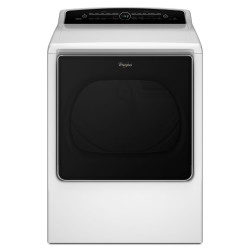 Whirlpool 8.8 cu. ft. Cabrio High-Efficiency Electric Steam Dryer