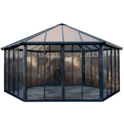 Palram Applications Garda Enclosed Garden Gazebo 1 IMAGE