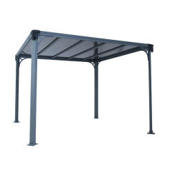 Palram Applications Milano 3000 Gazebo IMAGE