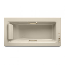 Armani Roca Built-In Bath Tub 2145 X 1100 mm With Soft Air Massage And  Water Chromo Therapy