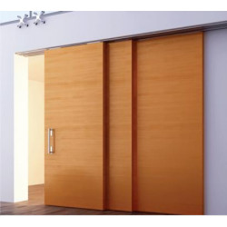Olive Wooden Drag Door