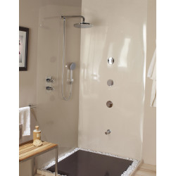 Bossini shower head with hand shower