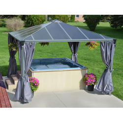Palram Applications Palermo 3600 Garden Gazebo IMAGE