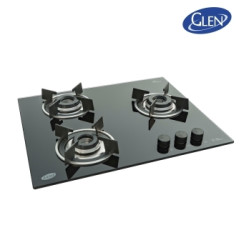 Glen Built in 3 Burner Gas Hob-GL 1063 RO IN