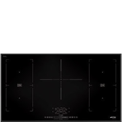 Smeg Hob, 90cm, Induction, Multizone Option, Black Hob, 90 Cm, Induction, Multizone Option, Black