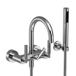 Dornbracht Bath Mixer For Wall Mounting, With Shower Set