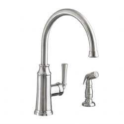 Portsmouth 1-Handle High-Arc Kitchen Faucet with Side Spray