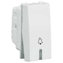 Havells 6Ax Bell push Switch with ind. IMAGE
