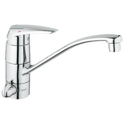 Grohe Eurodisc Single- Lever Sink Mixer 1/2 Eurodisc Single- Lever Sink Mixer 1/2""