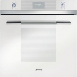 Smeg Electric Thermoventilated Oven, Pyrolitic,60 Cm,Linea, White, Energy Rating A