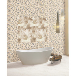 Platinum Coffee & Pink Designer Digital Wall Tiles India
