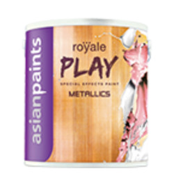 Asian Paints Royale Play Metallics water based paints