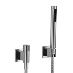 Dornbracht Hand Shower Set With Individual Rosettes, With Valve