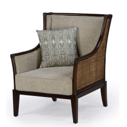 Abaca  Tropicana Uphostered Wing Chair