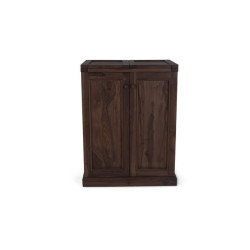 SNG SNG Solid Wood All in One bar cabinet India