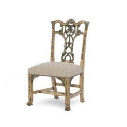 Century Furniture Emma Hand Painted Side Chair