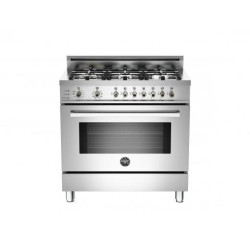 Bertazzoni 36 6-Burner, Electric Self-Clean Oven